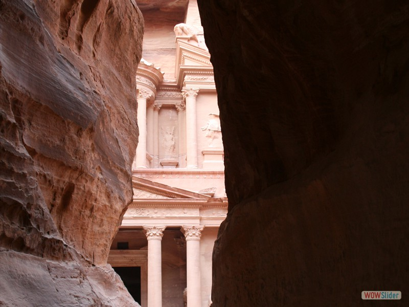 Entrance to Petra
