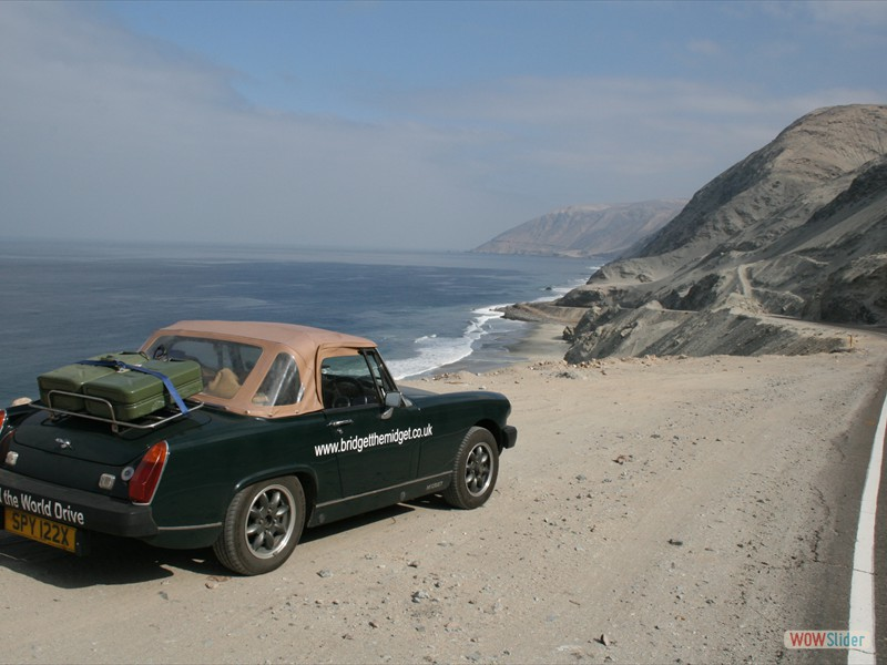 Pan American coast road nr Yauca - Peru