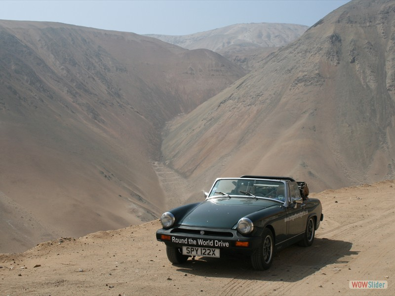 Pan American Highway 30 miles south Camana - Peru
