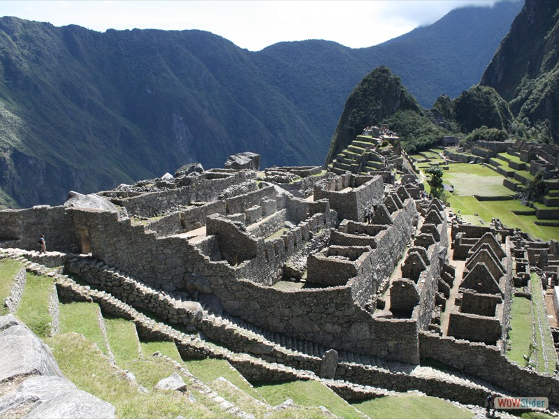 View from the Guardhouse - Machu Picchu