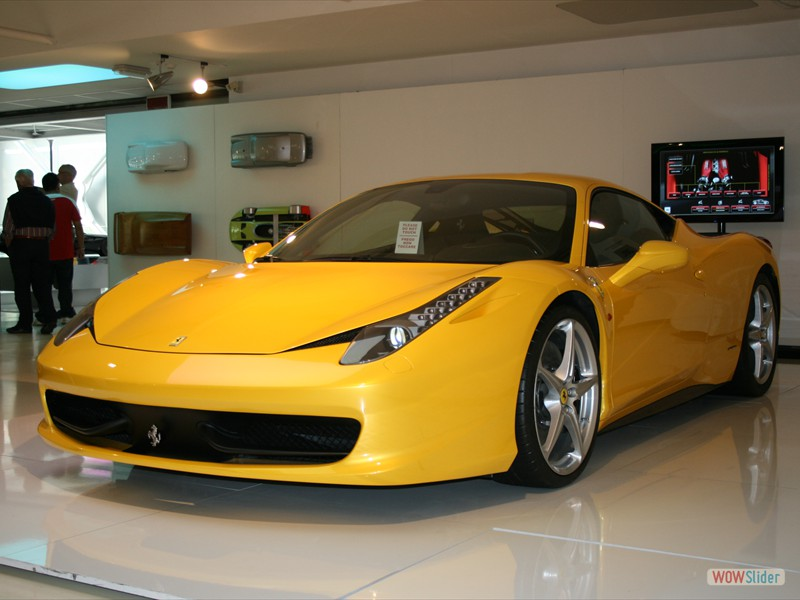 One-off Ferrari