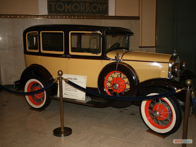 1930 Ford in Drury Family Collection