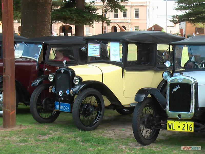 Austin Sevens (Chummy in centre) - Perth