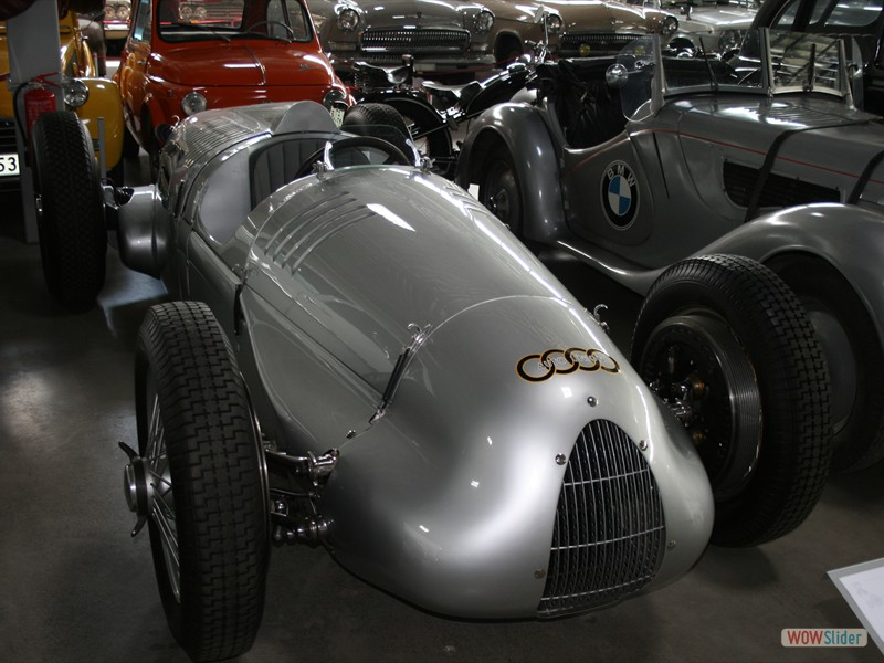 Auto Union V16 - Riga Motor Museum