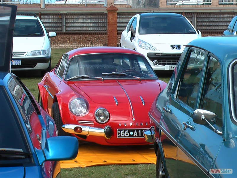 Renault Alpine - Freemantle