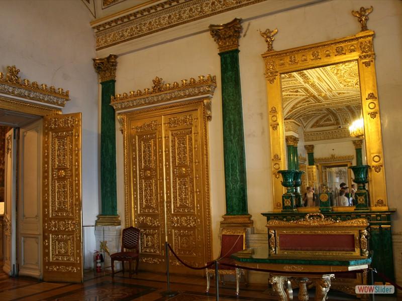 Malachite Hall - Winter Palace