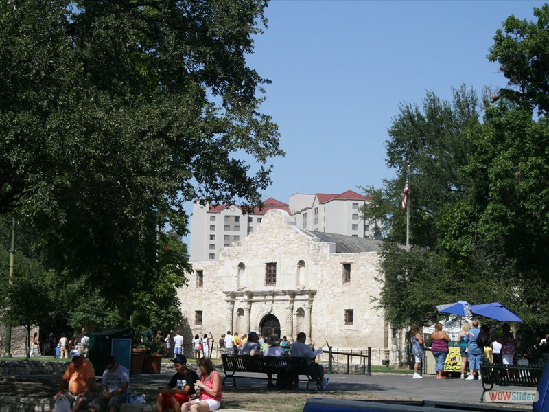 The Alamo's Front Door